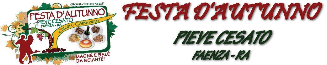 Festa d'Autunno Pieve Cesato